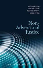 Non-Adversarial Justice - Michael King