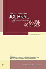 The International Journal of Interdisciplinary Social Sciences : Volume 5, Number 8