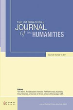 The International Journal of the Humanities : Volume 8, Number 10