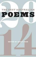 The Best Australian Poems 2014