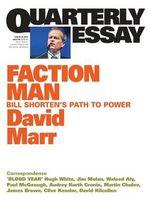 Marr on Bill Shorten : Quarterly Essay Issue 59 - David Marr