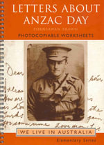 Letters About Anzac Day : Nceltr We Live In Australia - Sheila Duke