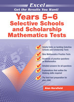 Excel Selective School and Scholarship Maths Tests - A. Horsfield