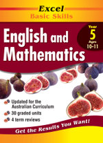 Excel Basic Skills - English and Mathematics Year 5 : Excel Basic Skills Ser. - Various