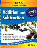 Maths Support Books : Addition & Subtraction: Years 3 & 4 - Pascal Press