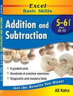Excel Basic Skills - Addition and Subtraction : Years 5 - 6 - AS Kalra