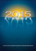 2015 Planner : FIRM SALE