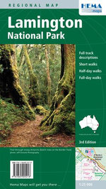 Lamington National Park Hema : HEMA.2.27 - Maps Australia Hema