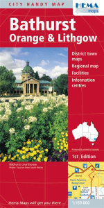 Bathurst Orange and Lithgow : Your Guide to a Complete Tasmania Experience - Maps Australia Hema