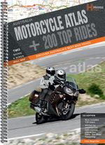 Australia Motorcycle Atlas Plus 200 Top Rides : HEMA.A.020SP