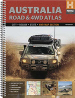 Australia Road & 4WD Atlas : Spiral Bound (10th Edition)