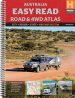 Hema : Australia Easy Read Road and 4WD Atlas - Maps Staff Hema
