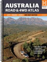 Australia : Road & 4WD Atlas : 11th Edition - Hema Maps Australia