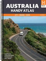 Australia Handy Atlas : Hema Handy Map - Hema Maps Australia