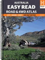Australia Easy Read : Road & 4WD Atlas : 11th Edition - Hema Maps