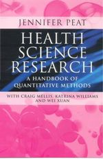 Health Science Research : A Handbook of Quantitative Methods - Jennifer K. Peat