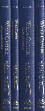 Willa Cather : Critical Assessments of Writers in English : 4 x Hardcover Books in a Boxed Set : Volumes 1 - 4