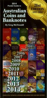 2014 Pocket Guide to Australian Coins and Banknotes - MCDONALD GREG