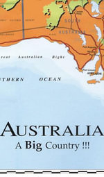Big Australia Map - Westprint Heritage Map