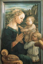 The Land Where Stories End :  As Narrated by the Angel Depicted in Madonna Con Bambino e Due Angeli by Felippo Lippi - ANON