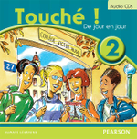 Touche ! 2 : French Audio CDs (2) - Judy Comley