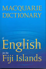 Macquarie Dictionary of English for Fiji - Macquarie Library