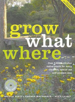 Grow What Where With Cd - Natalie Peate