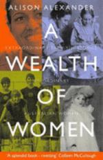 A Wealth of Women : Trends in Mathematics - Alison Alexander