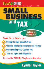 Blake's Go Guide Small Business and Tax : Blake's Go Guides - Lyndal Taylor