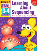 EXCEL EARLY SERIES AGE 3-4 ENGLISH BOOK 2: LEARNING ABOUT SEQUENCING WORKBOOK  - Hunter Calder