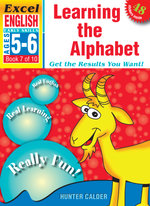 Excel Early Series English Book 7: Learning the Alphabet Workbook : Age 5-6 - Excel