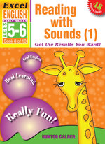 Excel Early Skills - English Book 8 Reading With Sounds 1 : Excel English Early Skills Ages 5-6: Book 8 of 10 - Hunter Calder