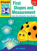 First Shapes and Measurement : Excel Maths Early Skills Ages 3-4: Book 3 of 10 - Bev Dunbar