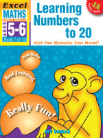 Excel Maths: Learning Numbers to 20 Workbook : Early Series AGE 5-6: BOOK 7 - Excel