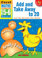 Add and Take away to 20 : Excel Maths Early Skills Ages 5-6: Book 8 of 10 - Bev Dunbar