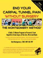 End Your Carpal Tunnel Pain Without Surgery - Kat Montgomery