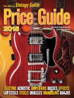 The Official Vintage Guitar Price Guide 2015 - Alan Greenwood