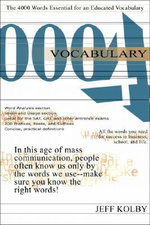 Vocabulary 4000 Ebook - Jeff Kolby