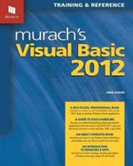 Murach's Visual Basic 2012 - Anne Boehm