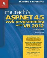 Murach's ASP.NET 4.5 Web Programming with VB 2012 - Mary Delamater