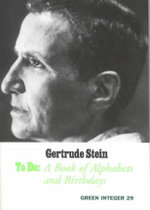 To Do : A Book of Alphabets and Birthdays - Gertrude Stein