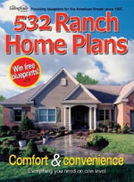 532 Ranch Home Plans - Garlinghouse Company
