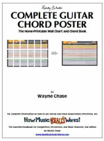 Roedy Black's Complete Guitar Chord Poster : The Home-Printable Wall Chart and Chord Book - Wayne, O. Chase