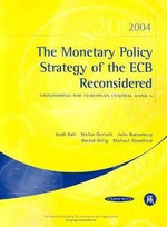 The Monetary Policy Strategy of the ECB Reconsidered : Monitoring the European Central Bank 5 - Julio Rotemberg