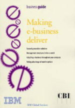 Making E-business Deliver