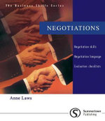 Negotiations : Negotiations - Anne Laws