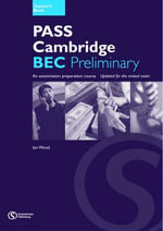 Pass Cambridge BEC : Preliminary Teacher's Book No.1 - Ian Wood
