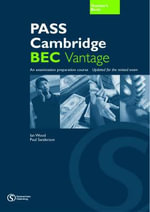 Pass Cambridge BEC : Vantage Teacher's Book No.2 - Anne Williams