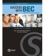 Success with BEC Preliminary : The New Business English Certificates Course - Rolf Cook