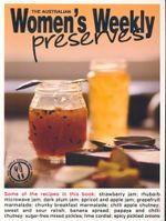 Preserves - The Australian Women's Weekly